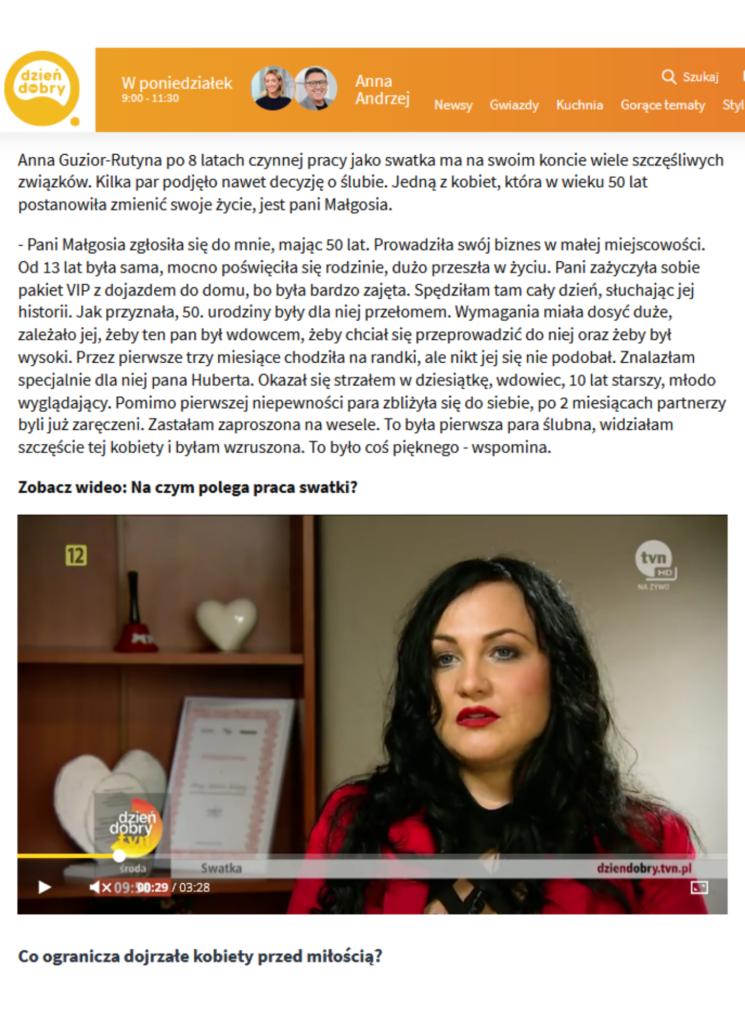 Wywiad dla DDTVN